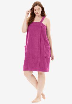 Towel Wrap By Dreams & Co.®, BRIGHT BERRY, hi-res