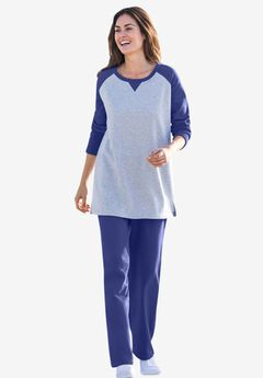 Plus Size Activewear Sets Sweatpants Jogging Suits Woman Within