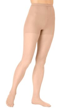 3-Pack Daysheer Nylon Pantyhose by Comfort Choice®, NUDE, hi-res