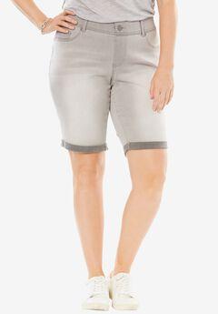 Curvy Bermuda Jean Short,