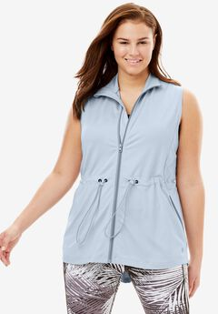 Performance Sport Vest, PEARL GREY, hi-res