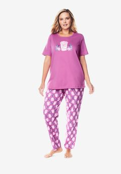 Graphic Tee PJ Set by Dreams & Co®,