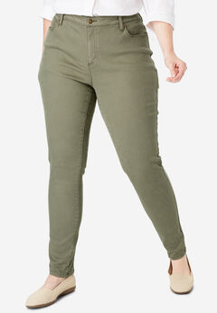 Perfect Skinny Jean, OLIVE GREEN