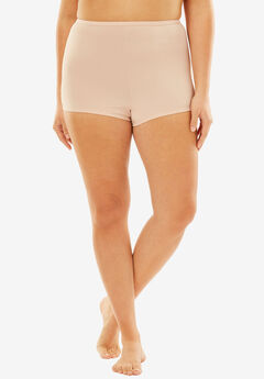 Stretch Microfiber Boyshort By Comfort Choice®, ROSE NUDE