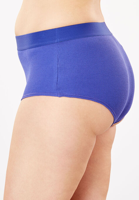 Ribbed Hipster Panty by Comfort Choice®