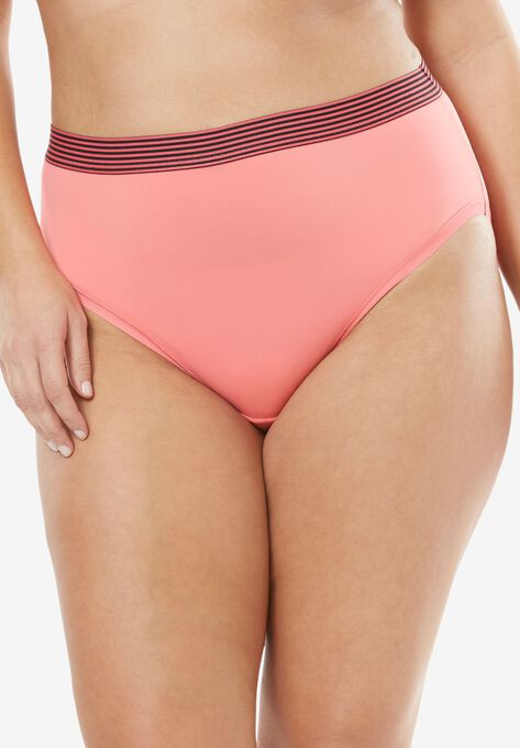c5f9caac7 Comfort Choice® Total Comfort High-Cut Brief Panty 2-Pack