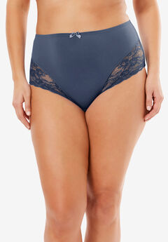 Lace Full-Cut Brief by Amoureuse®,