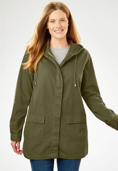 Lightweight Hooded Jacket,