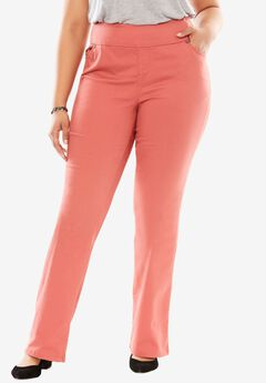 Bootcut Smooth Waist Jean, STRAWBERRY ROSE, hi-res