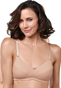 Amoena Ruth Cotton Soft Cup Bra, NUDE, hi-res