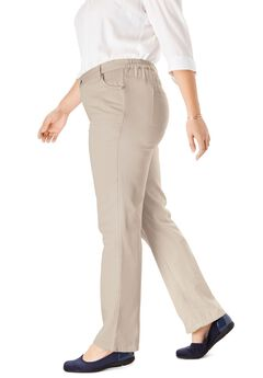 Wide Leg Pure Cotton Jean, , hi-res