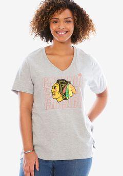NHL Short-Sleeve Tee, BLACKHAWKS