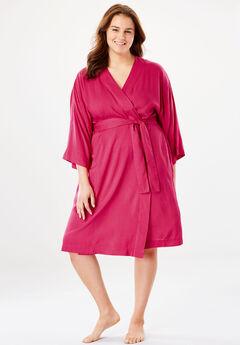 Kimono Wrap Robe by Dreams & Co.®,