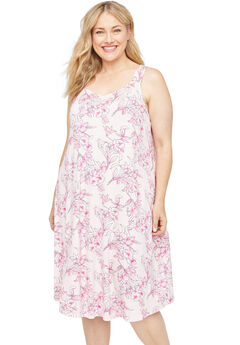 Hibiscus Bliss Sleep Gown,
