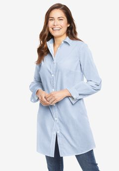 Perfect Long-Sleeve A-Line Tunic,