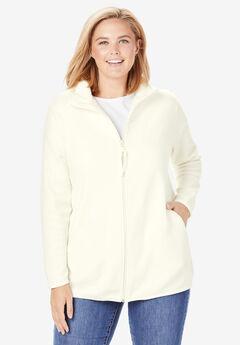 39fc8c11d1f Plus Size Fleece Jackets for Women