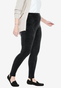 Velour Stirrup Legging,