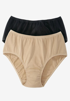 Comfort Choice® Stretch Cotton Cooling Brief 2-Pack,