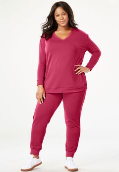 Cozy Fleece Jogger Set,
