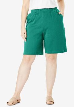 7-Day Knit Short, FOLIAGE GREEN