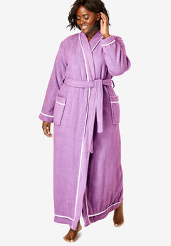 e9bca8b476 Plus Size Bathrobes   Slippers for Women