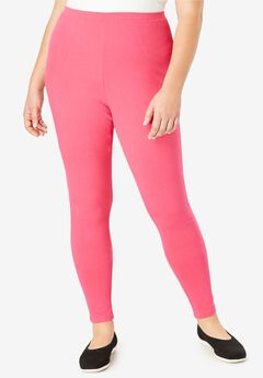 Stretch Cotton Legging, , hi-res