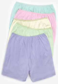5-Pack Cotton Boxer by Comfort Choice®, PASTEL PACK