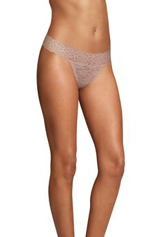 Sexy Must Haves Lace Thong by Maidenform,