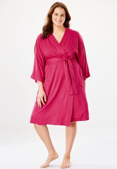 Kimono Wrap Robe by Dreams & Co.®,