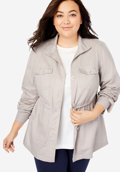 44ae927d777 Plus Size Outerwear  Short Length Coats