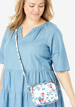 Floral Crossbody Bag,