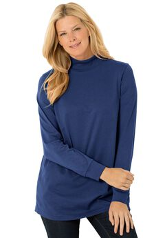 Perfect Mock Neck Knit Top,