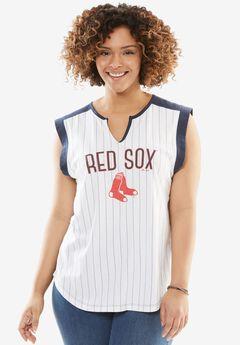 MLB Sleeveless Tee, RED SOX, hi-res