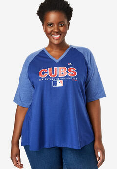 MLB Raglan Tee , CUBS, hi-res
