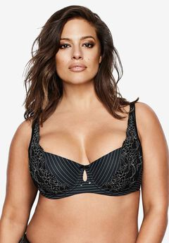 Essential Diva Bra by Ashley Graham®, BLACK, hi-res