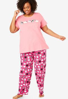 9e1b277d145 Plus Size Pajamas   PJs for Women