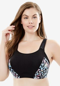 Elite Performance Wonderwire® Sport Bra by Glamorise®,