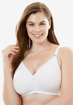 Wireless Bra by Comfort Choice®, WHITE, hi-res