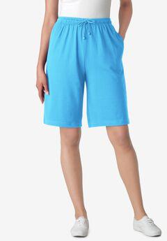 Sport Knit Short, PARADISE BLUE