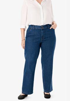 Wide Leg Cotton Jean,