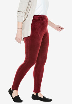 Velour Stirrup Legging,
