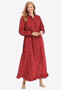 Long Flannel Nightgown ,