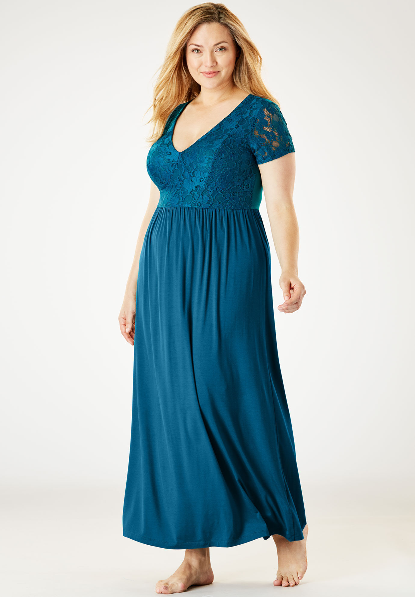 Plus Size Gowns for Women