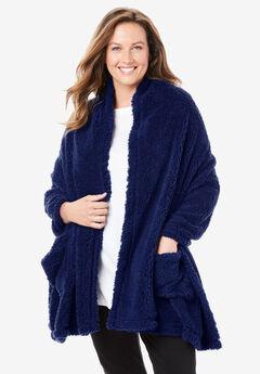 Sherpa Fleece Wrap,