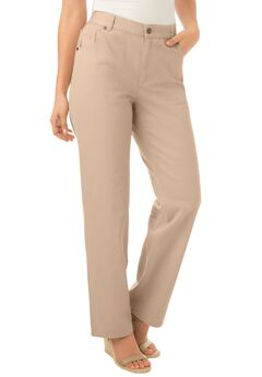 Cotton Straight Leg Relaxed Fit Jean,