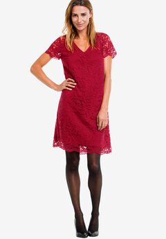 Grace Lace Shift Dress by ellos®,