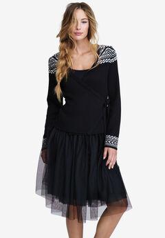Carrie Tulle Skirt by ellos®, BLACK