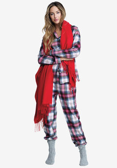 Plaid Flannel Pajama Set by ellos®,