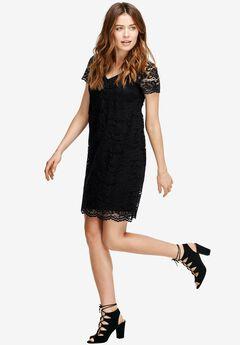 Grace Lace Shift Dress by ellos®,