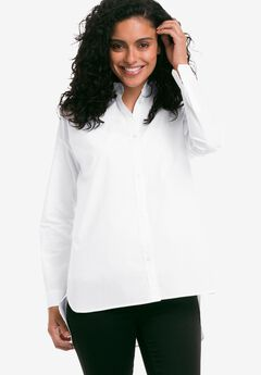 Button Front High/Low Tunic by ellos®,